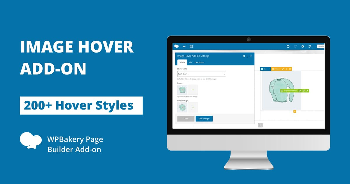 Download Image Hover Add-on for WPBakery Page Builder by infiwebs