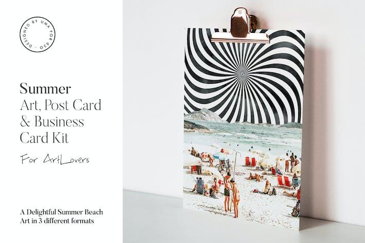 Thumbnail for Summer Beach Art & Stationary Kit