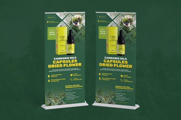 Cannabis Hemp Oil Products Rollup