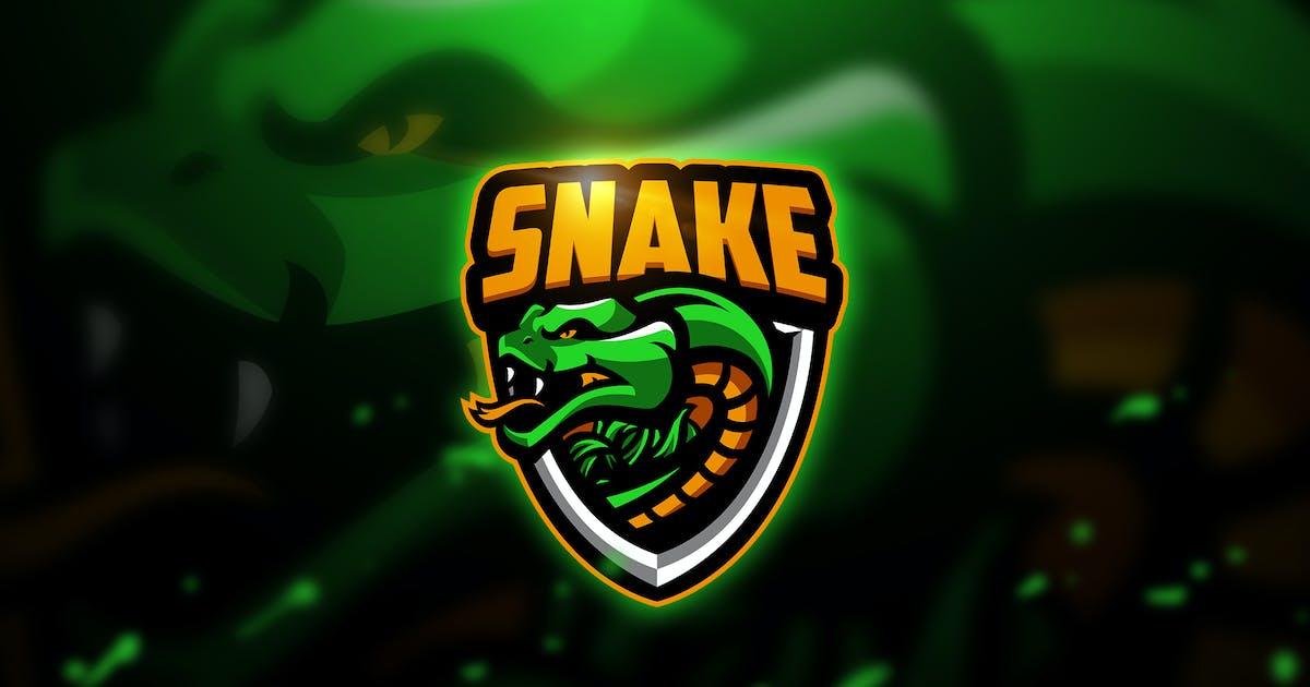 Download Snake 2 - Mascot & Esport Logo by aqrstudio