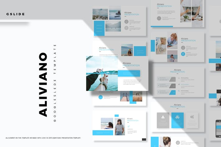 Thumbnail for Aliviano - Google Slides Template