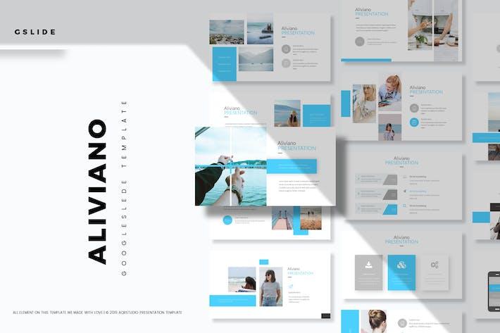 Thumbnail for Aliviano - Plantilla de Diapositivas de Google