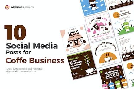 Social Media Coffee Tasty