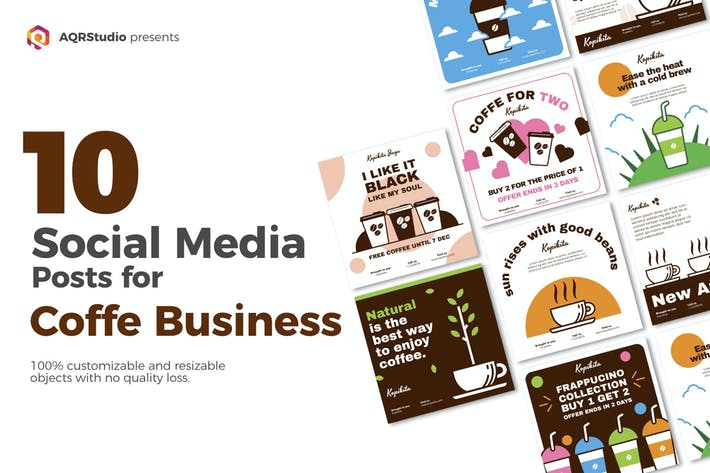 Thumbnail for Social Media Coffee Tasty