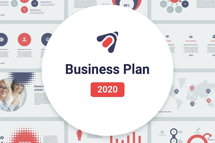 Thumbnail for Business Plan 2020 for Google Slides