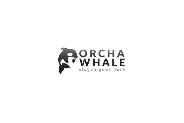 Thumbnail for Orca Whale Logo Template