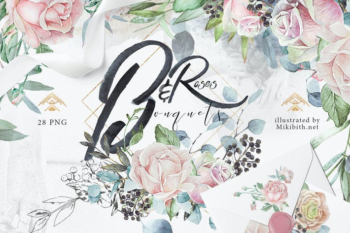"Thumbnail for Wedding roses & bouquets ""Artarian"" vol.2.2"