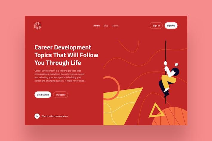 Thumbnail for Development Landing Page Illustration