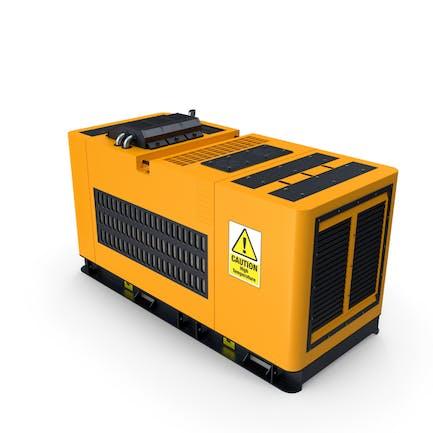 Gelber Dieselgenerator