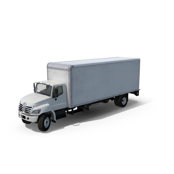 Thumbnail for Box Truck with Open Gate