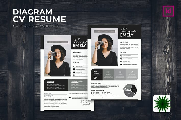 Thumbnail for Diagram CV Resume