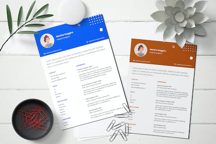 Young Spirit Resume Template