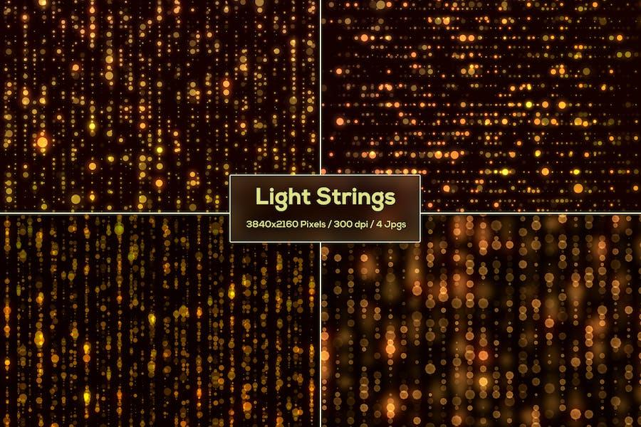 Light Strings Backgrounds