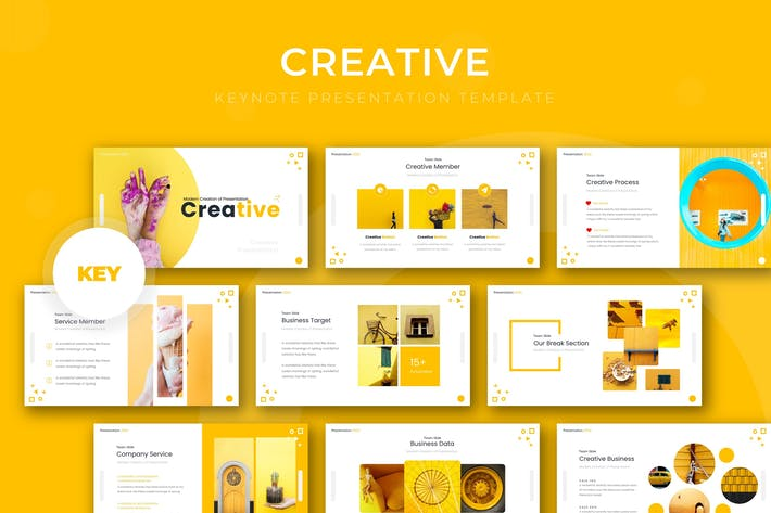 Thumbnail for Creative - Keynote Template