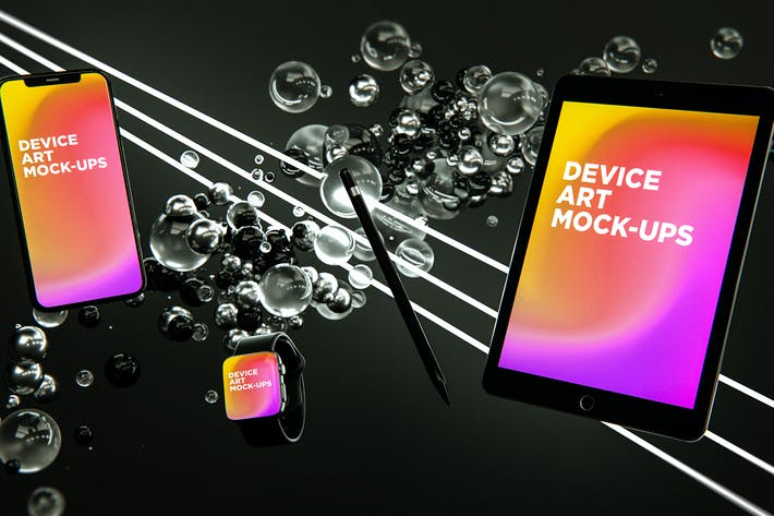 Thumbnail for Device Art MockUp 002