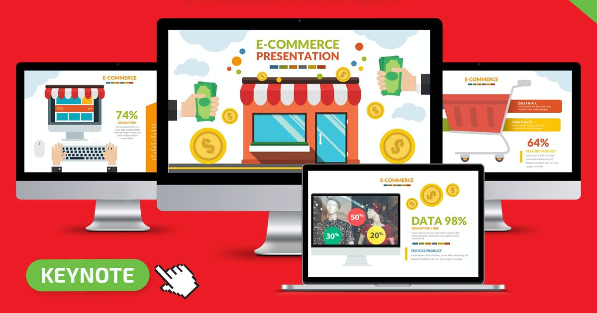 E-Commerce Keynote by mamanamsai