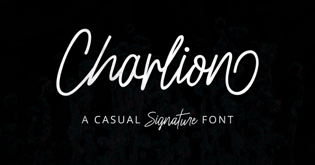 Download Charlion Script 2 Style by Byulyayika