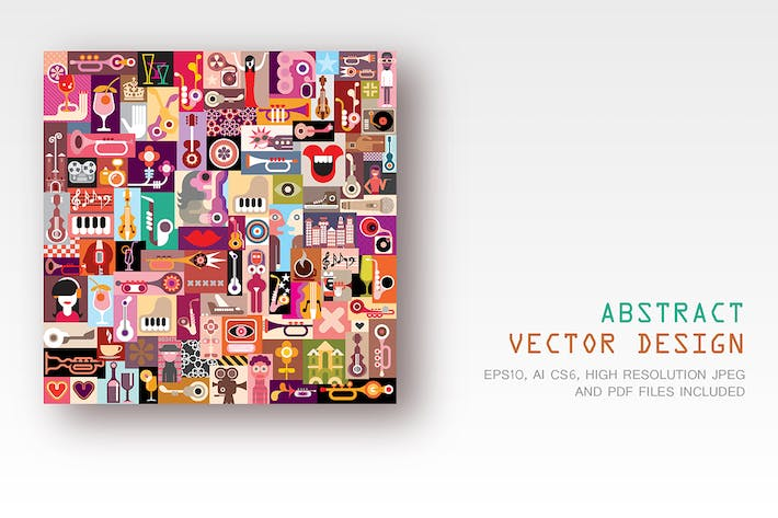 Thumbnail for Abstract Vector Design