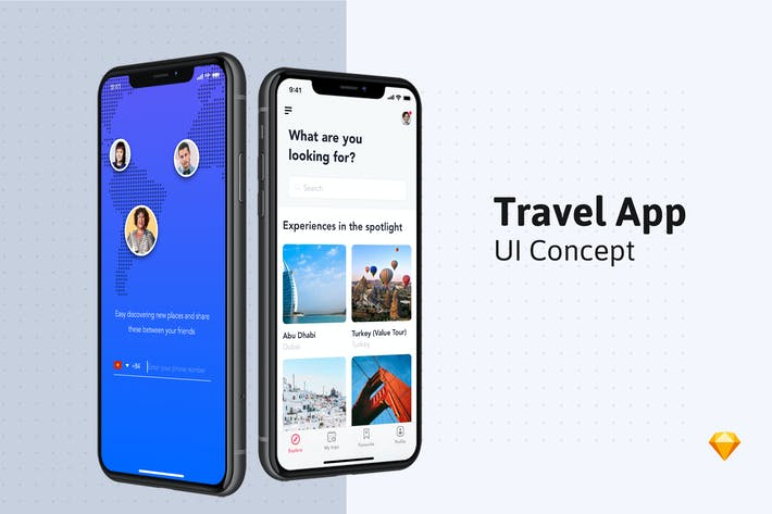 Thumbnail for Travel Booking App
