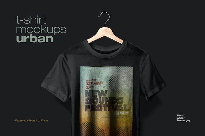 Thumbnail for T-shirt Mockup Urban