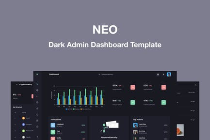 Neo - Responsive Admin Dashboard Template