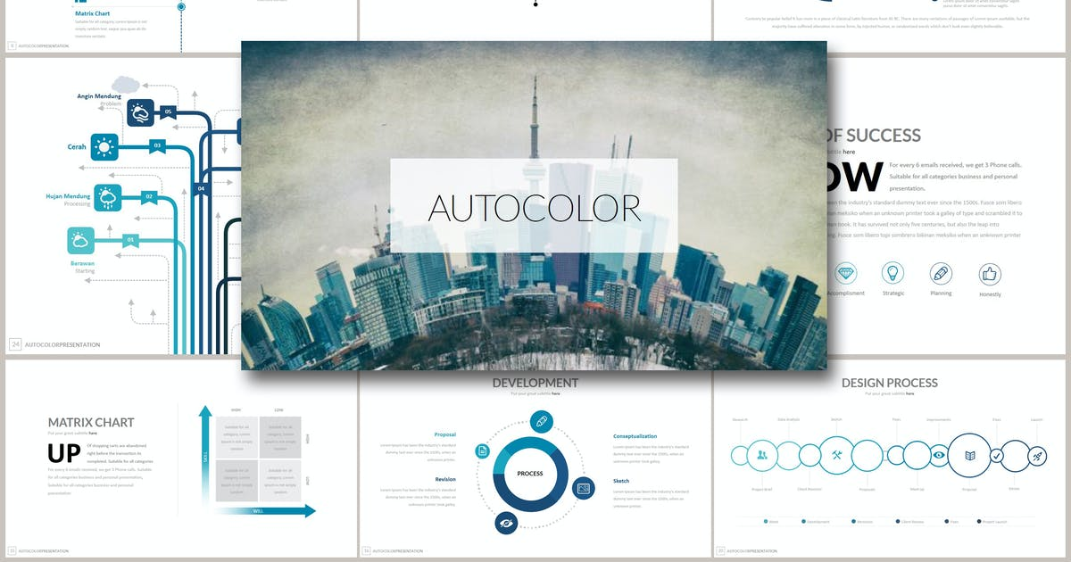 Download AUTOCOLOR Powerpoint by Artmonk