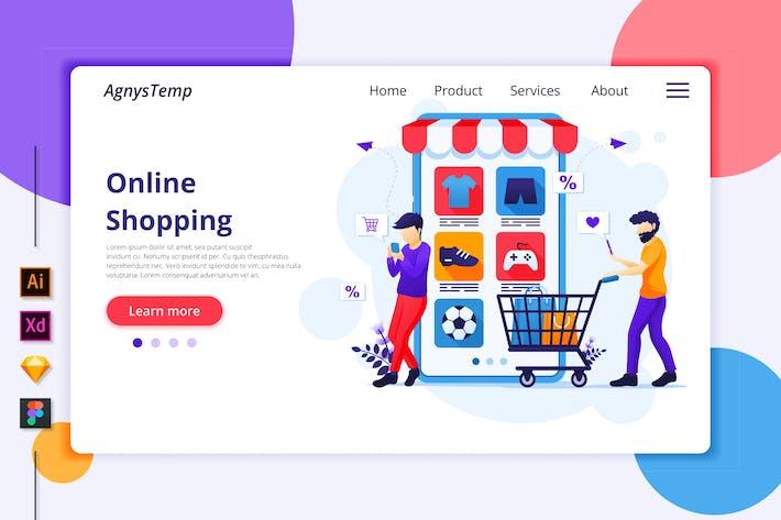 Thumbnail for Agnytemp - Shopping Illustration v7