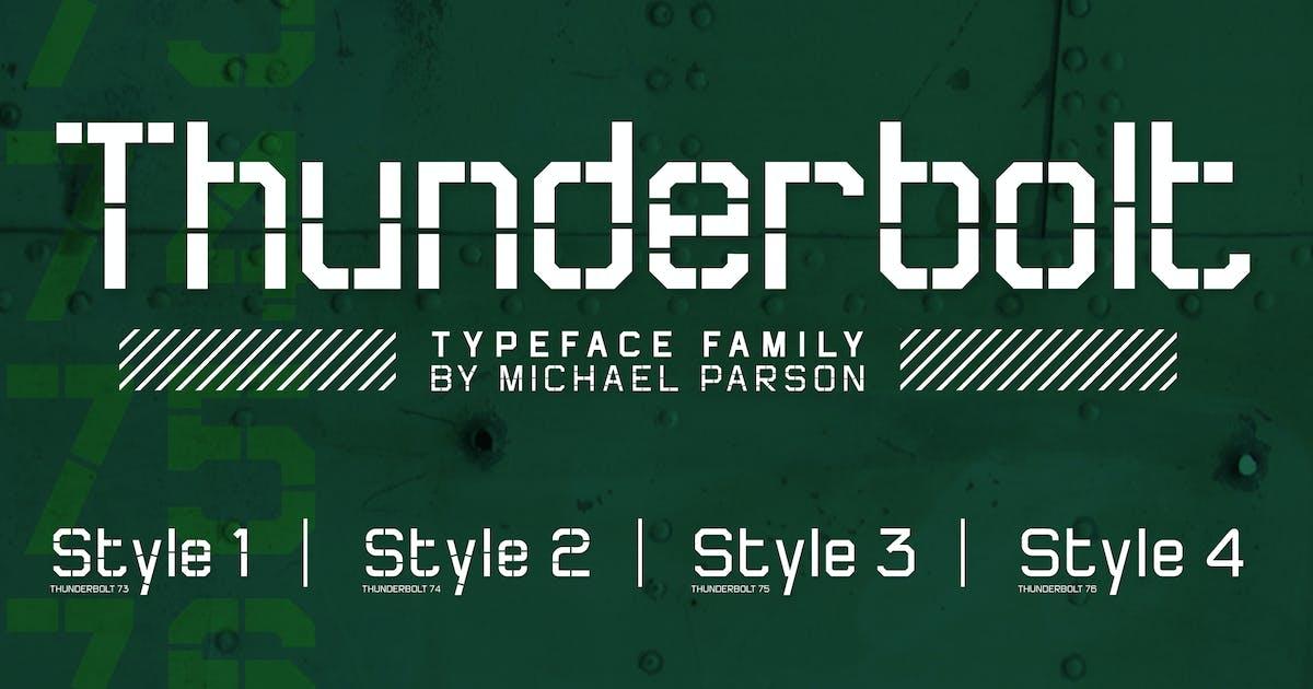 Download Thunderbolt by Typogama