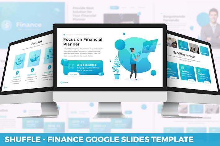 Shuffle - Finance Google Slides Template
