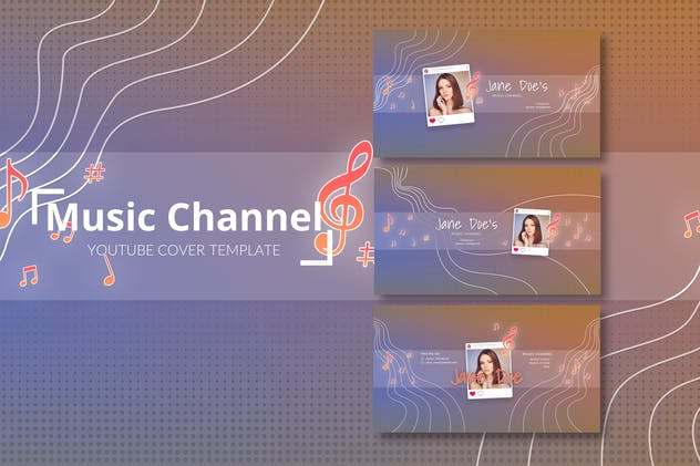 Musician Vlog – Youtube Cover Template Pack