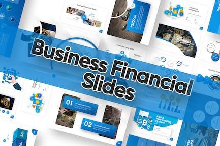 Business Finance Slides Powerpoint Template