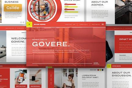 Govere - Google Slide Presentation Template