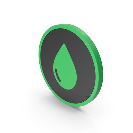 Icon Drop Green