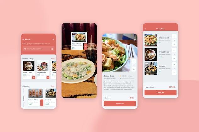 Order Food Mobile UI - FD