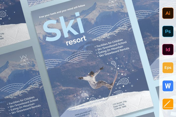 Thumbnail for Ski Resort Poster