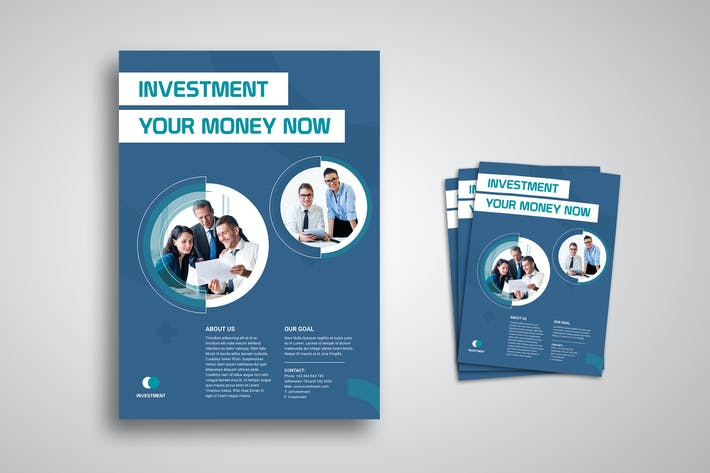 Thumbnail for Investment Flyer Promo Template