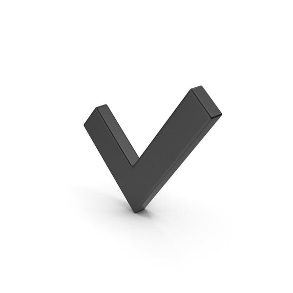 Symbol Black Check Mark