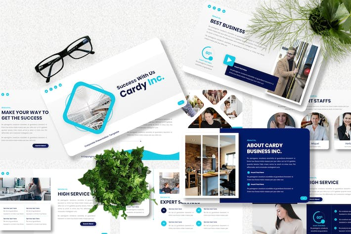 Cardy - Corporate Keynote Templates