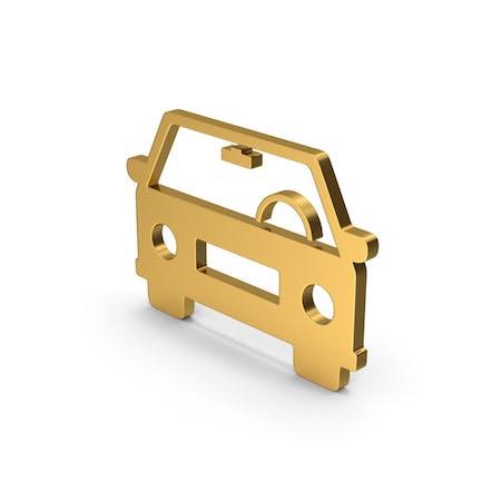 Symbol Car Gold