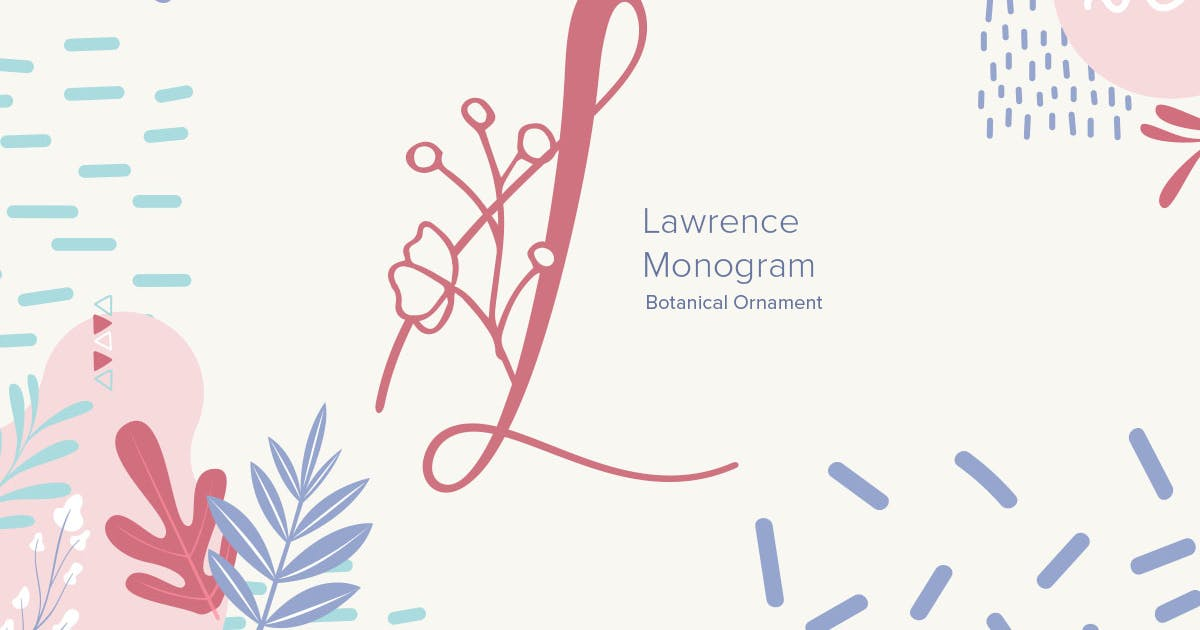 Download Laurence Monogram Font by YumnaStudio