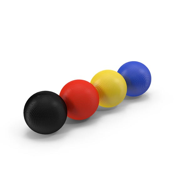 Cover Image for Croquet Balls