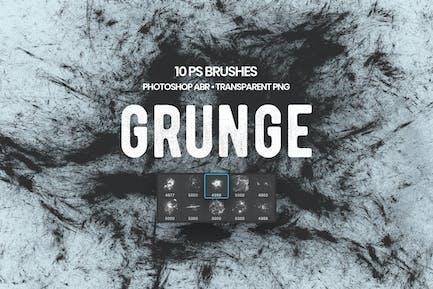 Pinceles Grunge Photoshop