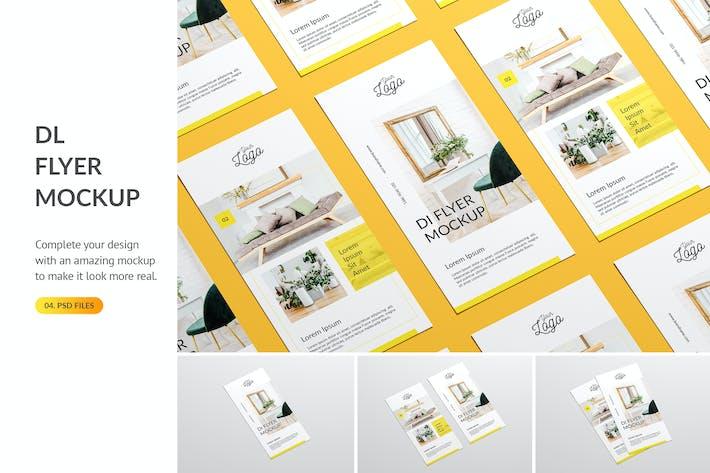 Thumbnail for DL Flyer Mockup