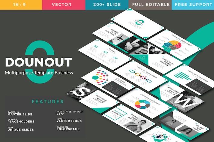 Thumbnail for Dounot Creative Keynote