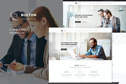 Bolton : Consulting PSD Template