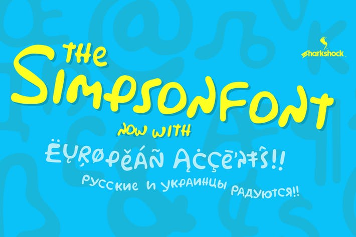 Cover Image For Simpsonfont