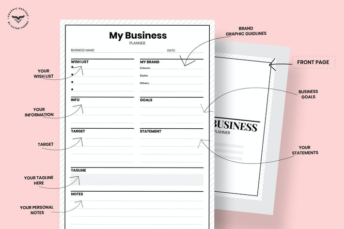 Thumbnail for Simple Business Planner