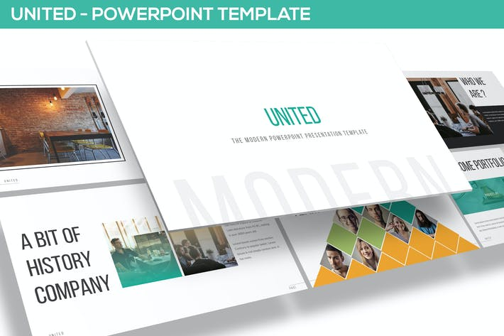 Thumbnail for United - Powerpoint Template