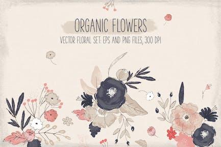 Flores orgánicas