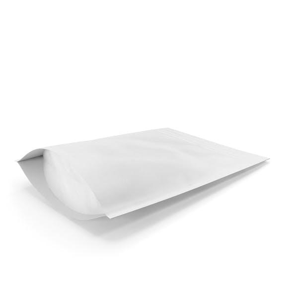 Zipper White Paper Bag 220g